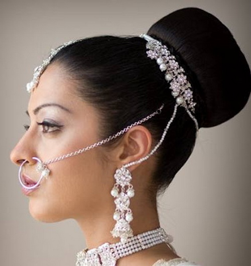 Simple Hairstyle For Indian Wedding: Beauty Trendz Salon & Spa