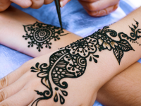Photo Gallery of the Henna Tattoo Design – best tattoo for women